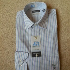 Van Heusen AIR Dress Shirt Regular Fit 15 32/33
